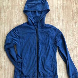 lululemon hoodie zip up jacket Mens S